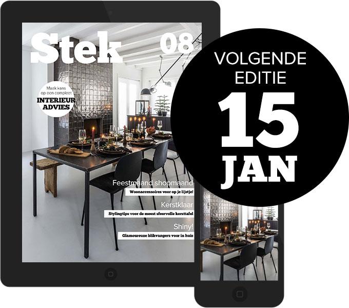 Stek Magazine nieuwste editie cover